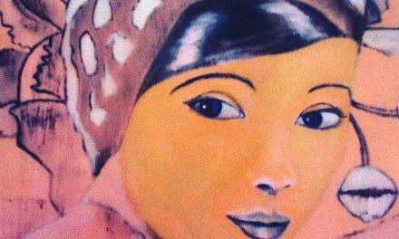 """Krista Näslunds verk kan ses på olika platser i Sverige – i form av målningar och textilier: """"Jag gillar att leka med verkligheten"""""""