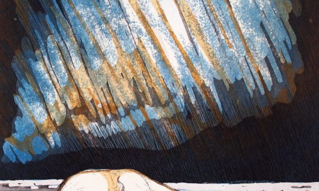 Bland isbjörnar och norrsken – för konstnären Rudolf Overå har färgen, ljuset och pulsen alltid varit det viktiga