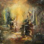 Vattenskidsolyckan startade Anders Malms stora konstnärslycka – nu har han ställt ut sina målningar över hela världen