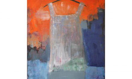 Caroline Roberts ser målandet som en process – ett brobygge som alltid går att förändra