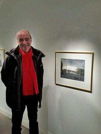Peter Czerniak på Edsvik konsthall.