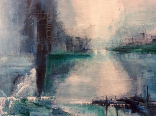 Cancerbesked och uppehåll – Men nu har vinden vänt för konstnären Margaretha P Elfstrand