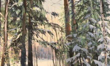 Ett besök hos konstnären Johan Thunberg på Laxön i Älvkarleby