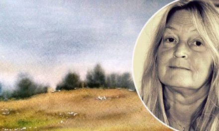 """Lyckan och sorgen – två saker som betytt mycket för Anette Arkbrings skapande: """"Viktigt att det finns en själ i bilden och i målandet"""""""