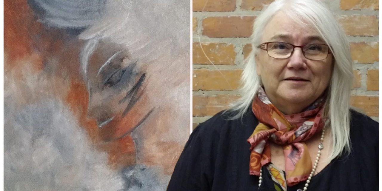 Kärleken till måleriet tog Anita ur utbrändheten och in i glädjen