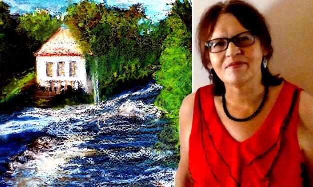 """Britta Bergström-Jungell avbildar Finlands vackraste delar – och lite till: """"Viktigt att visa det som är vackert och njutbart"""""""