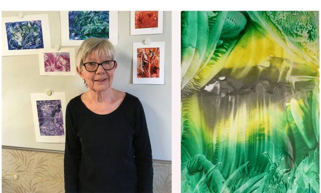 Britt-Inger Vikberg har ett klart mål med sin konst – att ge alla barn möjligheten att få le