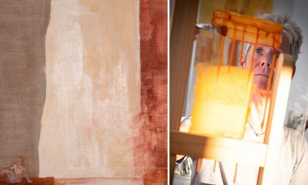 Ellinor Ristoff är barnläkaren som tycker om att minimiera och reducera när hon målar – men samtidigt lyssna på sin egen magkänsla
