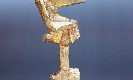 Bland guldspadar och blå katedraler – För konstnären Mats Lodén blir den långa processen som en typ av meditation