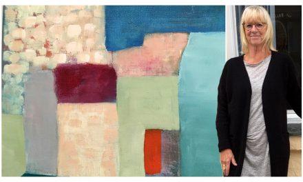 """För henne är måleriet ett utryckssätt – för att beskriva det som inte är uppenbart: """"Ett ständigt flöde av inre och yttre bilder"""""""