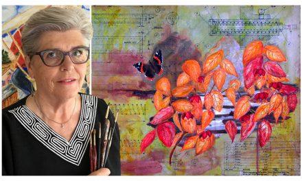"""Från Göteborg till Paris och Louvren – Kate Hellqvist vill att hennes konst ska påverka och beröra: """"Spännande att se vad konsten kan väcka för åsikter"""""""