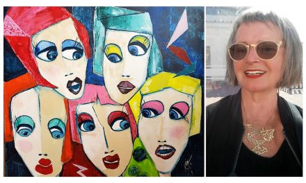 Majlis Karlsson tycker om det som är roligt och inte helt perfekt – något som hon tydligt förmedlar med sin konst