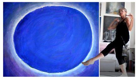 För Monica Gorschelnik hänger konst och meditation ihop – i Vedic Art hittade hon det, och sig själv