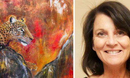 Hälften av året jobbar hon som läkare – resterande tid ägnar Kim Ritthagen åt äventyrsresor och själsligt måleri.