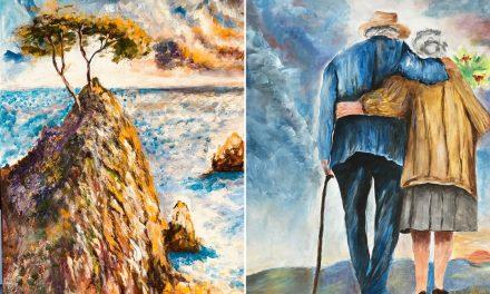 """Läkaren György Csemiczky förverkligar ungdomsdrömmen: """"Min hustru visste inte att jag kunde måla"""""""