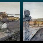 En stad i evig förändring – ta del av akvarellisten Peter Czerniak´s sentimentala Stockholmsskildringar