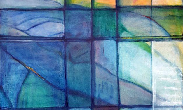 Gudrun Alvebros konst inbjuder till känsloresor och tankar om andlighet
